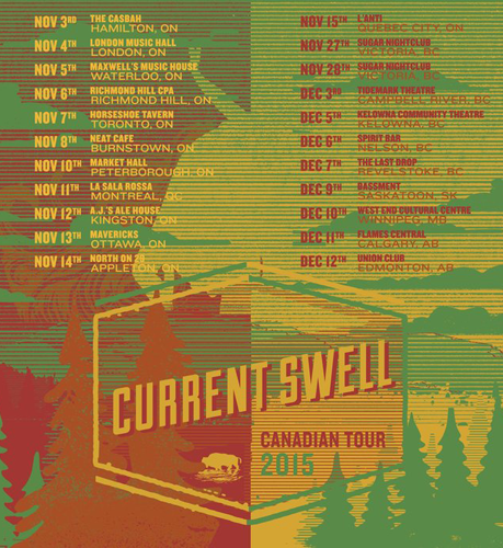 Current Swell back on the road!